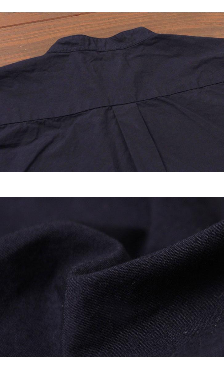 マニュアルアルファベット MANUAL ALPHABET バンドカラーシャツ ルーズフィット MA-S-351