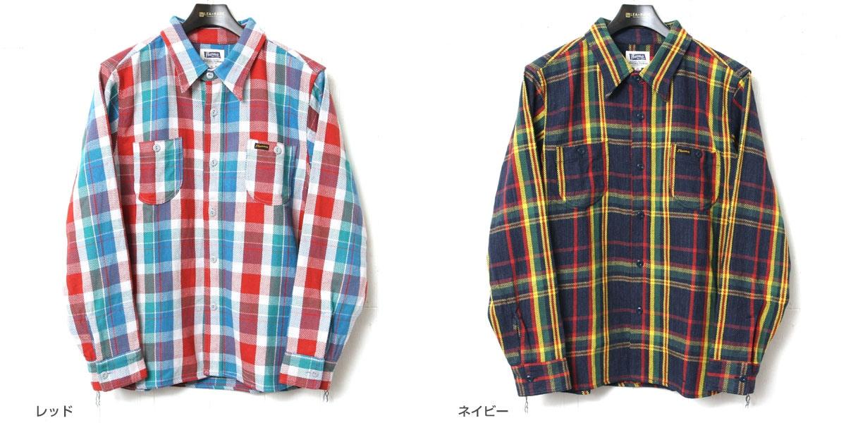 フェローズ ヘビーネルシャツ Pherrow's 17W-720WS