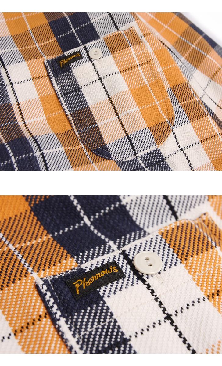フェローズ ヘビーネルシャツ Pherrow's 18W-720WS