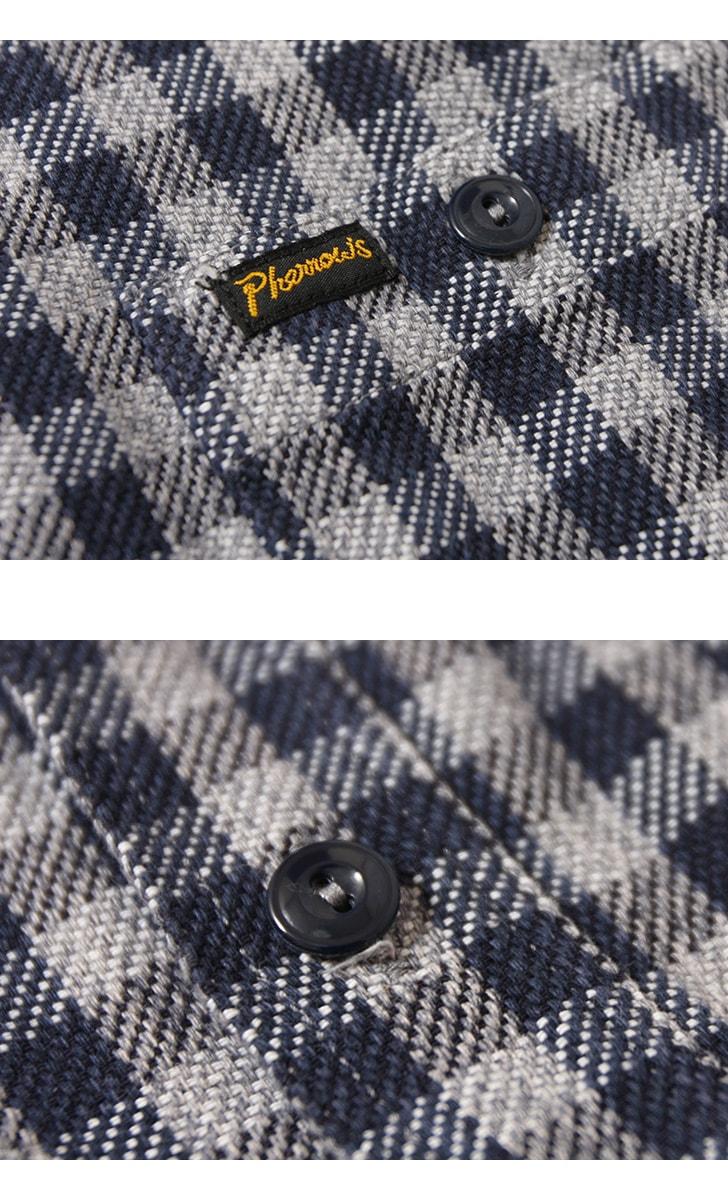 フェローズ ヘビーネルシャツ Pherrow's 19W-720WS