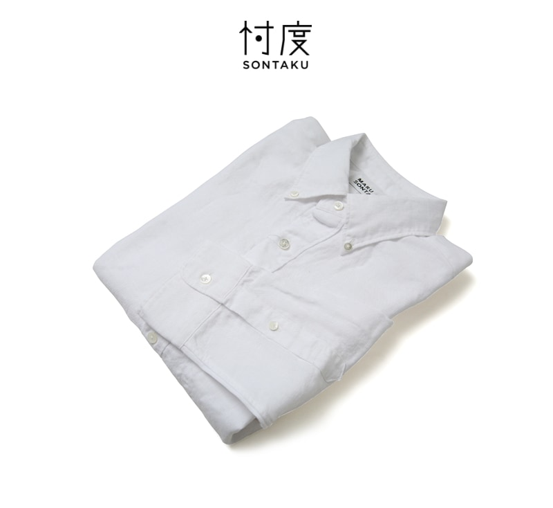 忖度 SONTAKU ソンタク ジャパンリネンBDシャツ 881HD26013