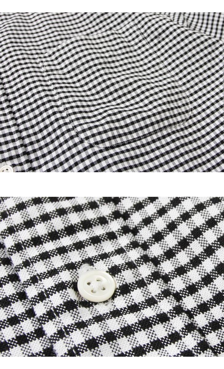 ソンタク SONTAKU オックスフォードギンガムチェックBDシャツ 99250 ボタンダウン