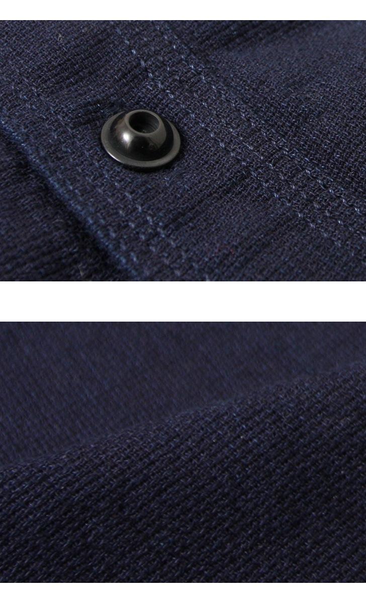 UES ウエス インディゴドビーシャツ 501603
