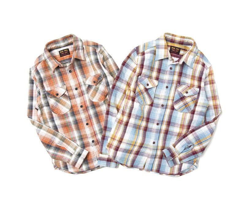 UES ウエス 先染ヘビーネルシャツ 501753