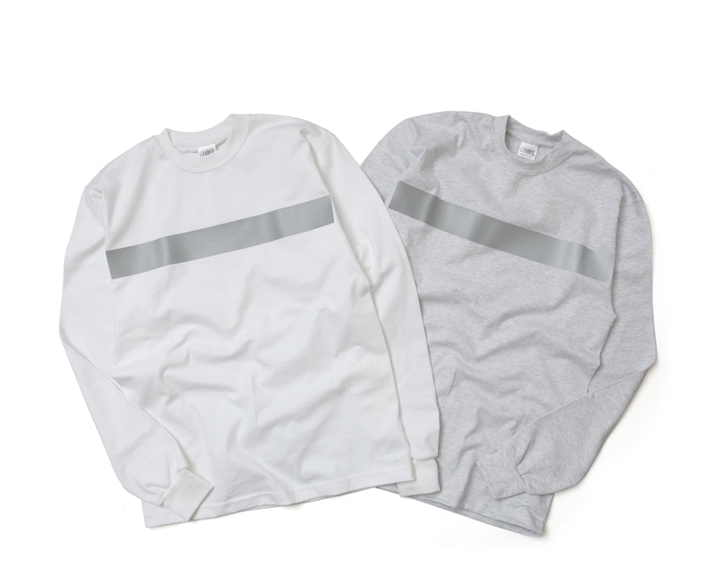 キャンバー CAMBER MAX WEIGHT 8oz ヘビーウェイト長袖リフレクタープリントTシャツ