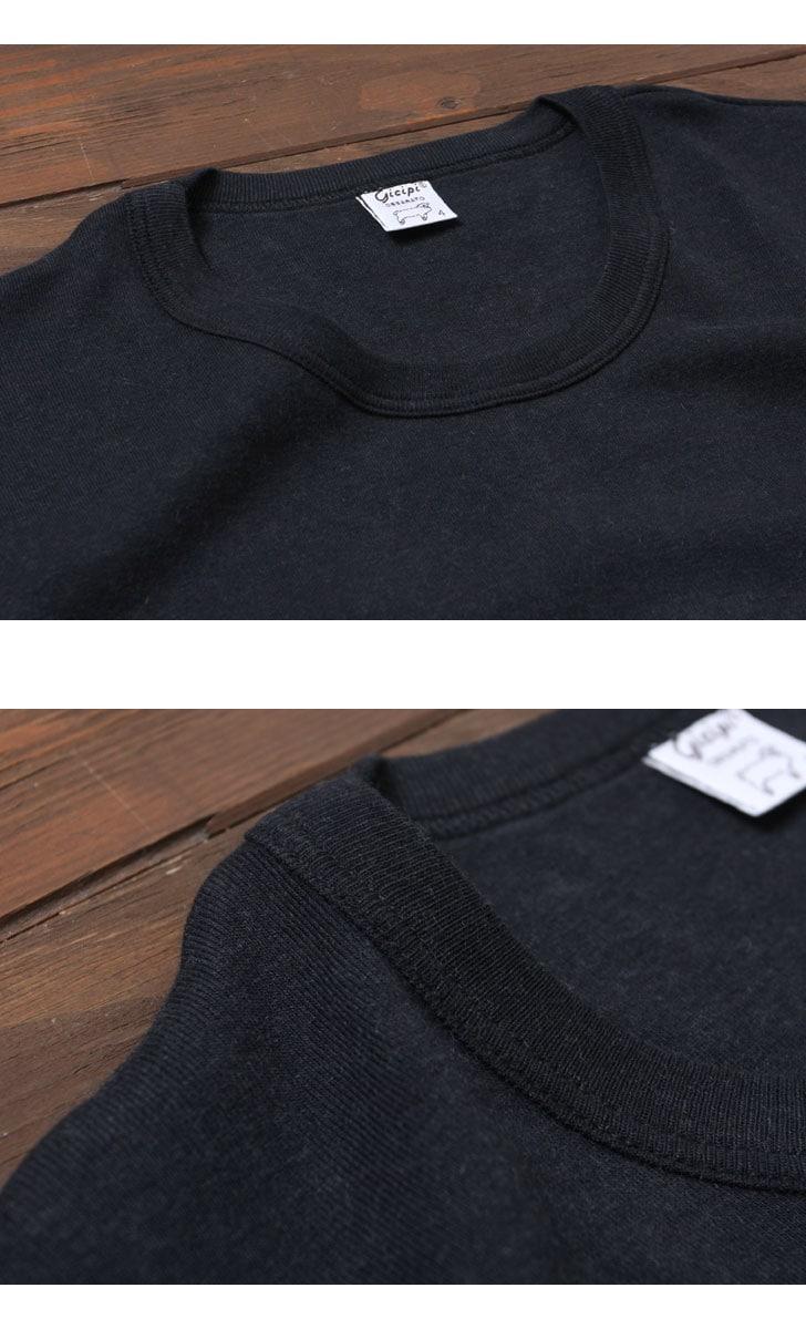 ジチピ Gicipi カシミアコットンロングスリーブTシャツ メンズ 1706A