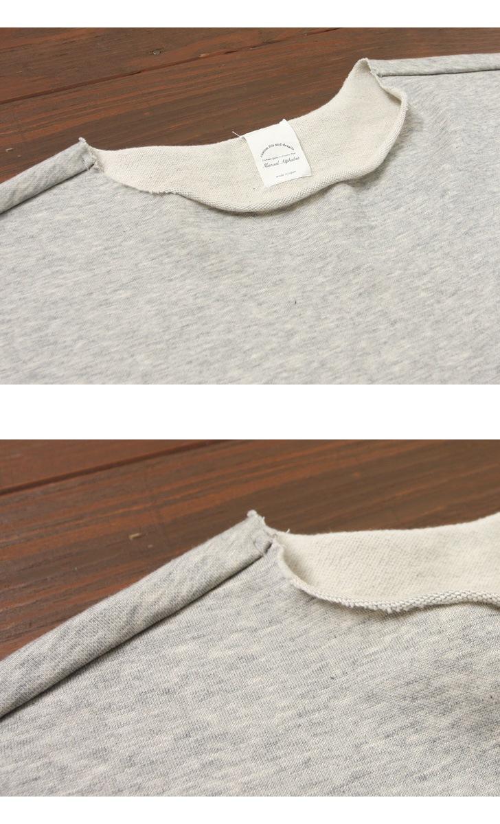 マニュアルアルファベット MANUAL ALPHABET カットオフ ロングスリーブTシャツ MA-C-042
