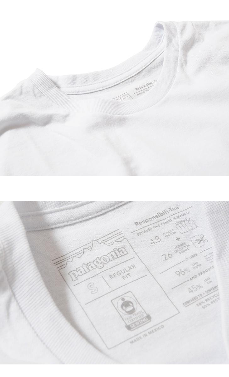 パタゴニア Patagonia メンズ・ロングスリーブ・P-6ロゴ・レスポンシビリティー 長袖Tシャツ 38518