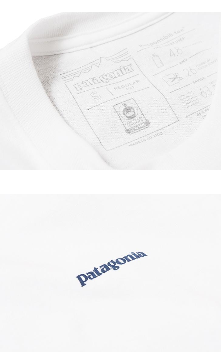 パタゴニア Patagonia メンズ・ロングスリーブ・テキスト・ロゴ・レスポンシビリティー 39042