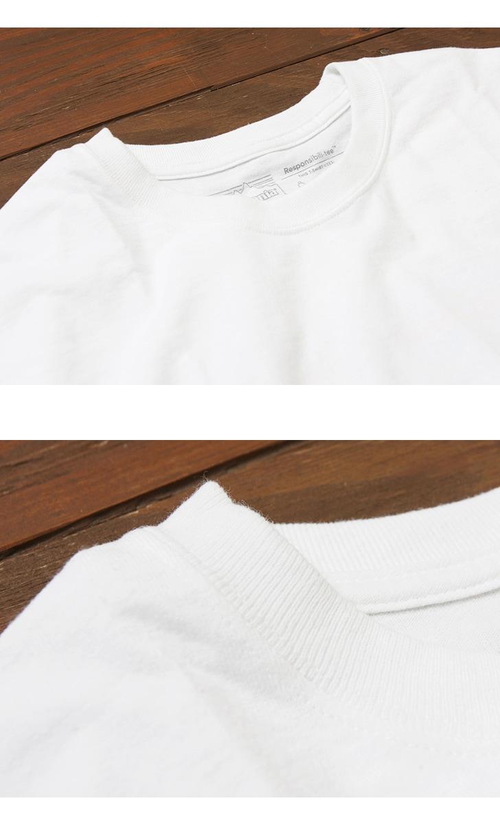 パタゴニア Patagonia Tシャツ メンズ・ロングスリーブ・P-6ロゴ・レスポンシビリティー 39161