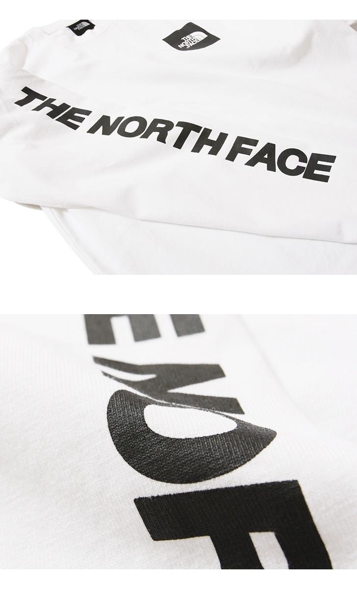 THE NORTH FACE ザ ノースフェイス ロングスリーブスクエアロゴティー NT81931 長袖Tシャツ ロンT