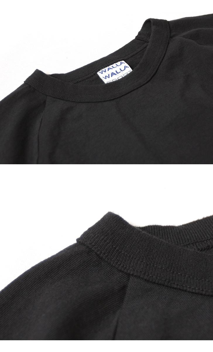 WALLA WALLA SPORT ワラワラスポーツ ロングスリーブ ルーズフィット ベースボールTシャツ WW030111-SR