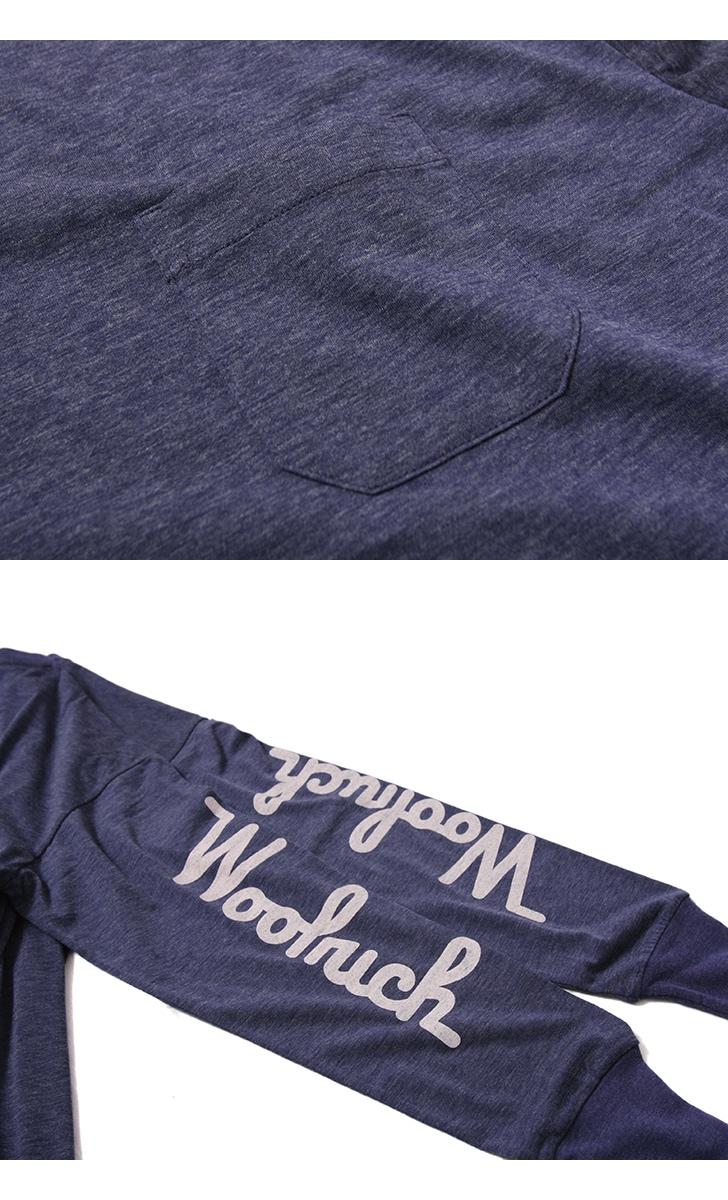 WOOLRICH OUTDOOR ウールリッチアウトドア ドライミックスメリノウール長袖Tシャツ NOTEE1931