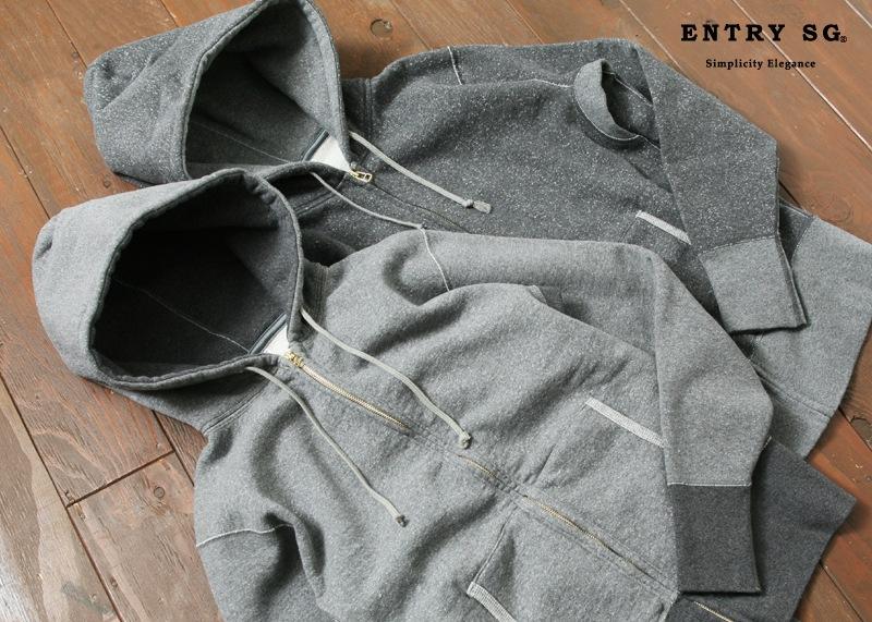 ENTRY SG フルジップパーカ [VALUES]