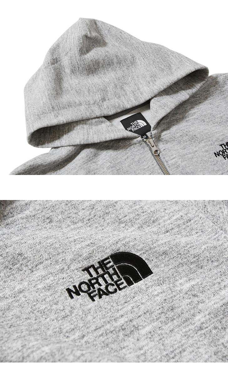 ノースフェイス スクエアロゴフルジップ スウェット パーカー THE NORTH FACE NT12037