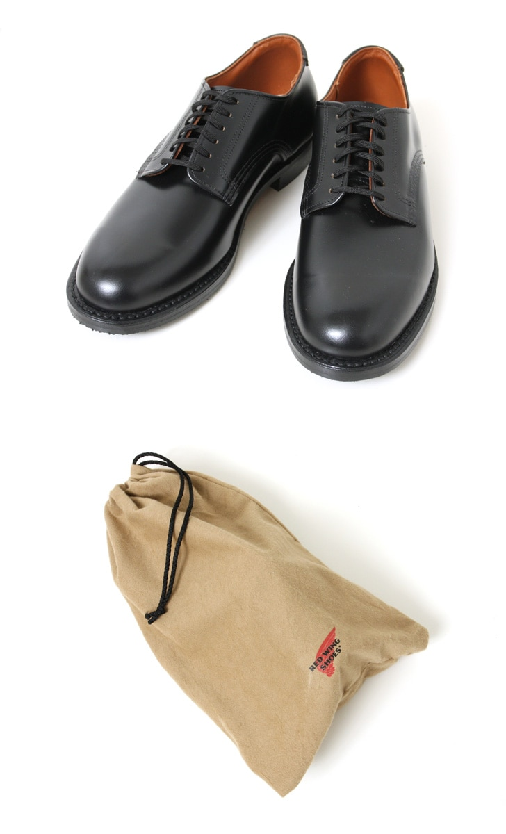 レッドウイング REDWING Mil-1 Blucher Oxford 9087 ブラック 国内正規品
