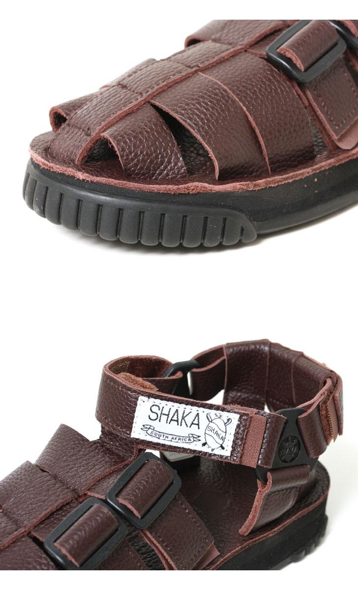 SHAKA シャカ サンダル HIKER Leather ハイカー レザー