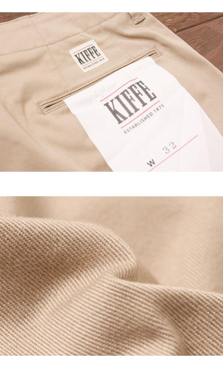 キッフェ KIFFE オフィサーショーツ ショートパンツ KF70TC303M