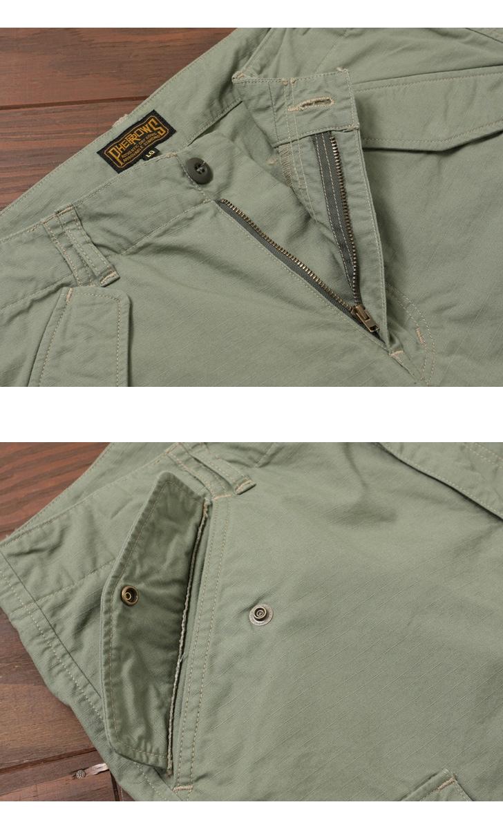 フェローズ Pherrow's 5分丈 ミリタリーショーツ ショートパンツ 16S-P6PM