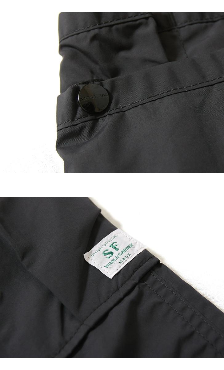 SASSAFRAS ササフラス Whole Hole Pants 1/2 ホールホールショートパンツ SF-191488