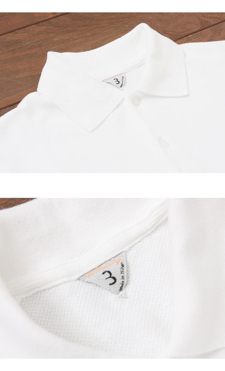 FilMelange フィルメランジェ OLSEN オルセン 鹿の子ポロシャツ