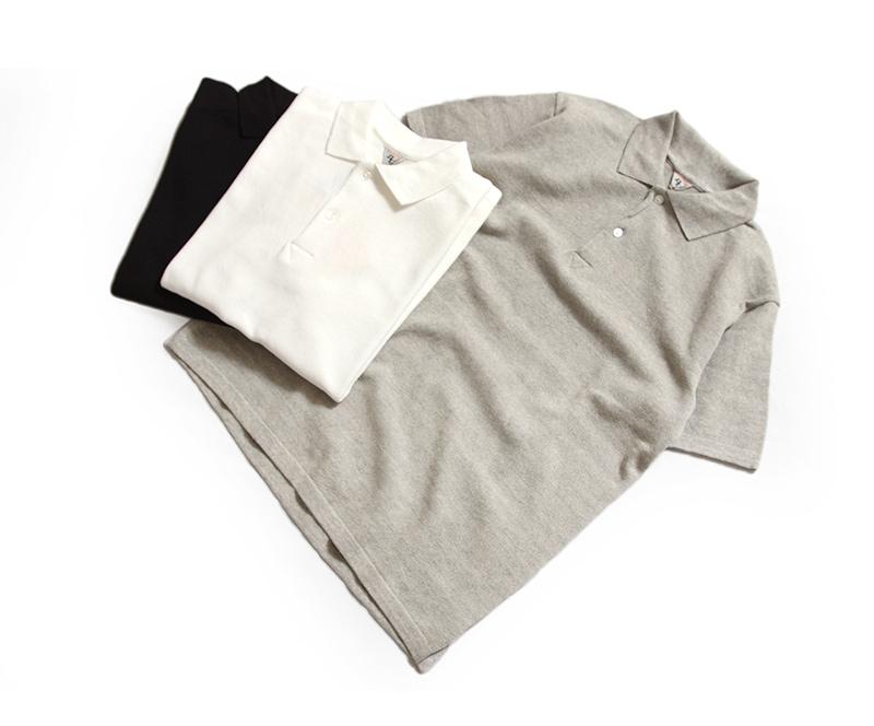 FilMelange フィルメランジェ OUDNEY オードニー 鹿の子ポロシャツ 1911034