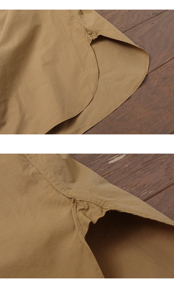 KAPTAIN SUNSHINE キャプテンサンシャイン Finx Cotton-Silk ワークシャツ KS8SSH01