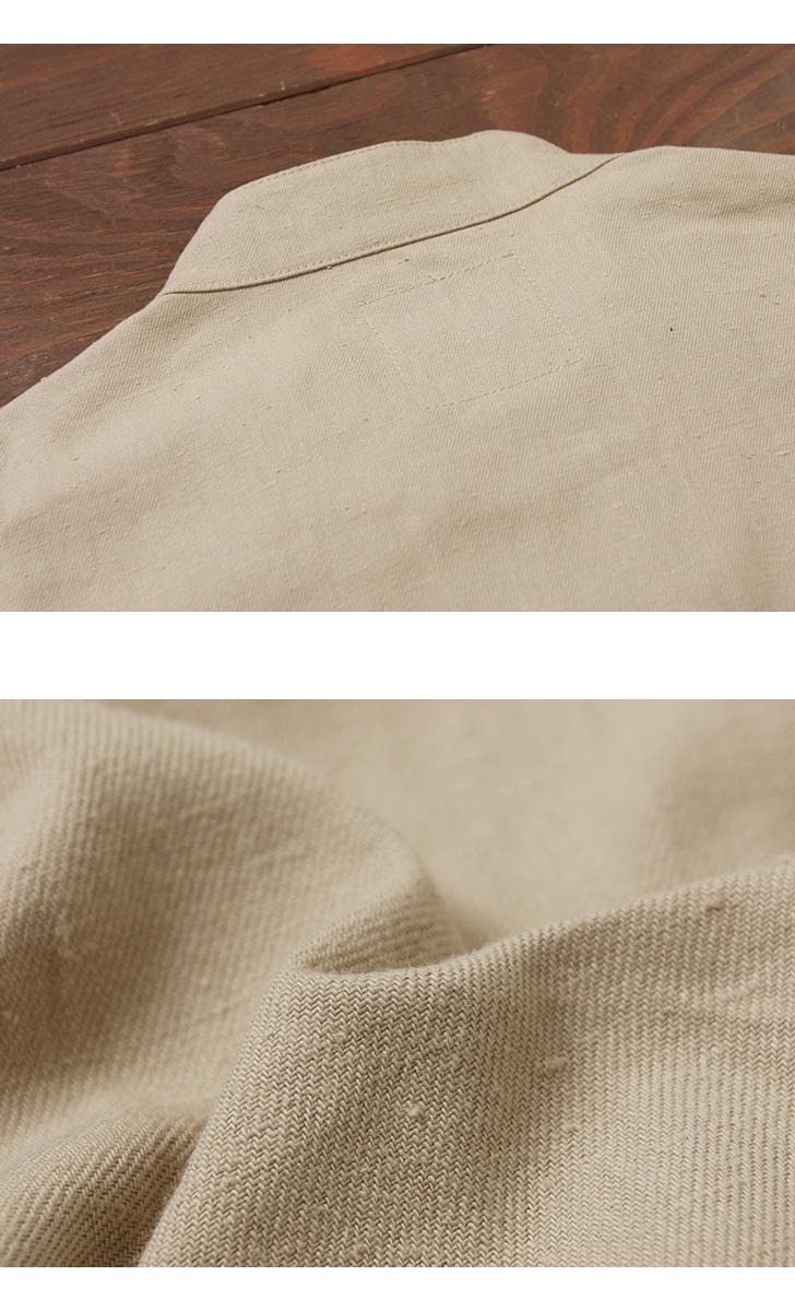 マニュアルアルファベット MANUAL ALPHABET コマンド ネップ プルオーバーシャツ MA-S-431