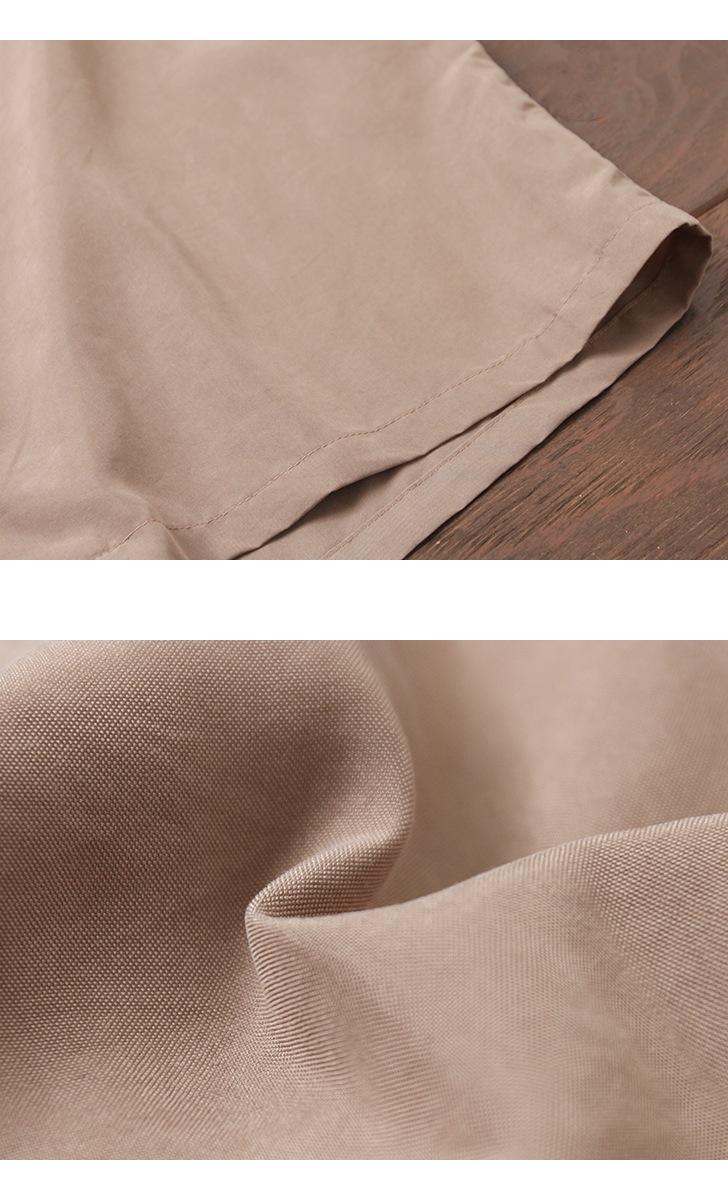 マニュアルアルファベット MANUAL ALPHABET スムース オープンカラーシャツ MA-S-442