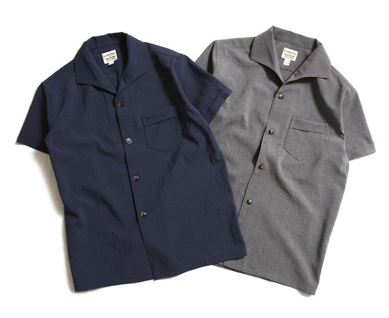 Pherrow's フェローズ イタリアンカラー半袖シャツ 19S-PICS