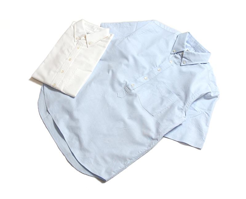 SERO セロ オックスフォードプルオーバーボタンダウンシャツ SR1900X11021