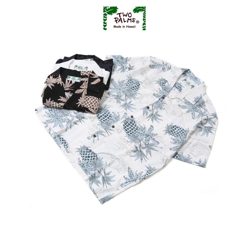 TWO PALMS トゥーパームス アロハシャツ ハワイアンシャツ 501R