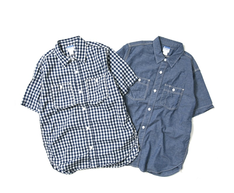 WORKERS ワーカーズ Short Sleeve Work 半袖ワークシャツ