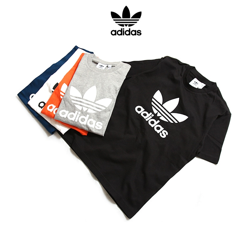 adidas アディダス トレフォイル 半袖Tシャツ EKF76