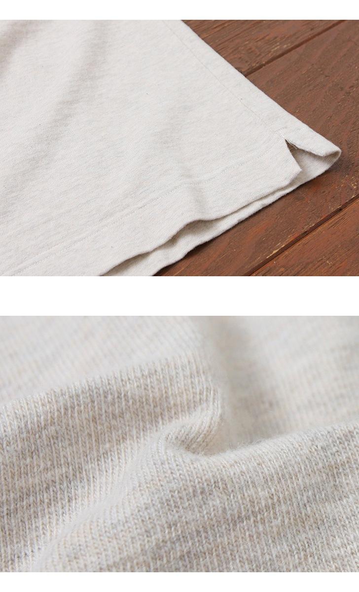 BETTER ベター ミドルウェイト パステルカラー クルーネック半袖Tシャツ ラフィ BTR1603SP