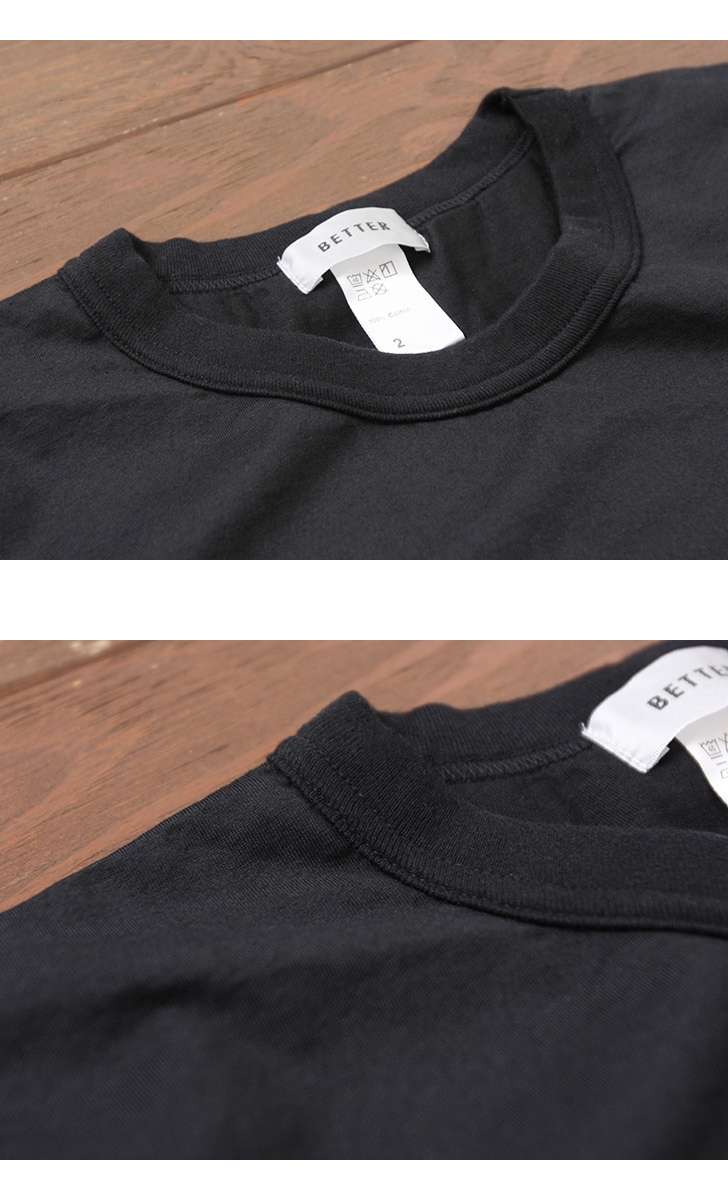 BETTER ベター ボックスポケットTシャツ マハバーラ BTR1814