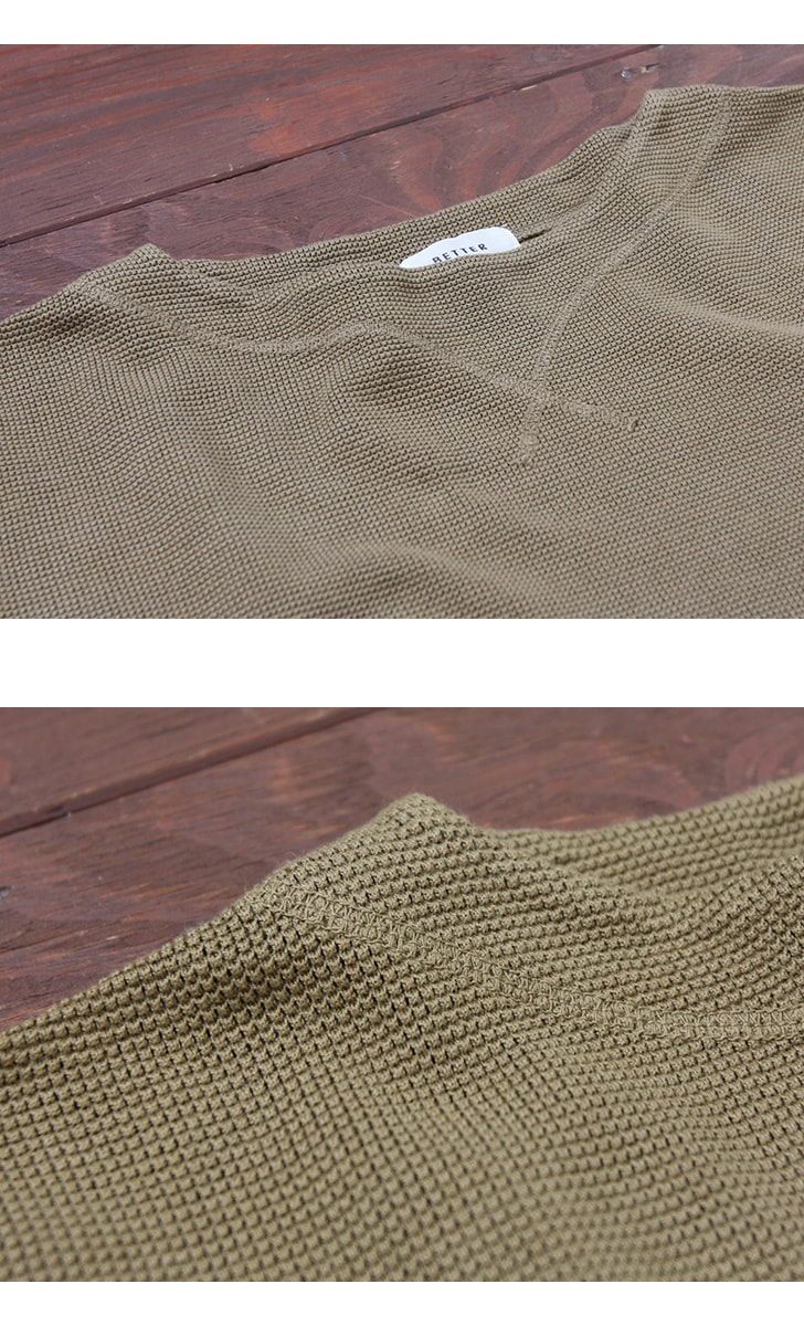 BETTER ベター ジャガードメッシュ ボートネックTシャツ BTR1816