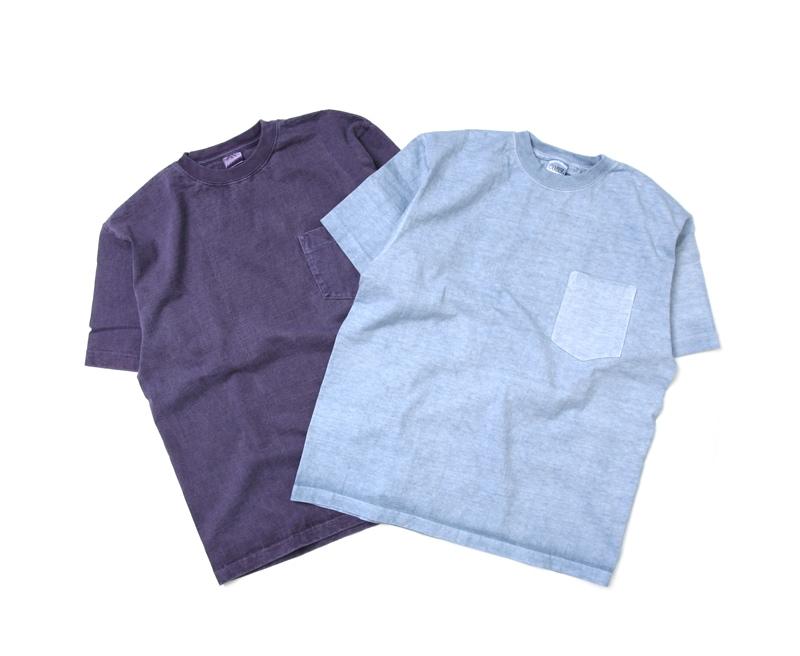 キャンバー CAMBER MAX WEIGHT 8oz ヘビーウェイト 半袖ピグメント加工ポケットTシャツ 302-PD18S