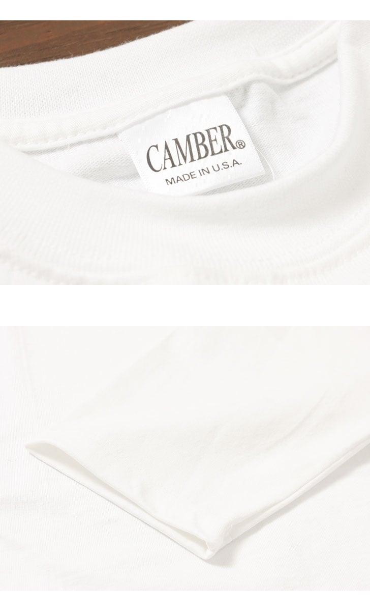 キャンバー CAMBER MAX WEIGHT 8oz ヘビーウェイトハーフスリーブTシャツ #305
