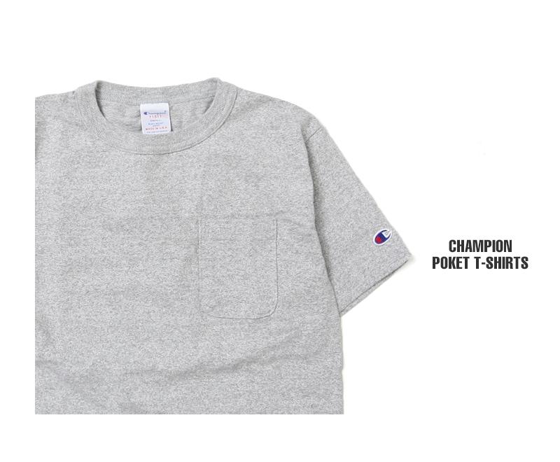 チャンピオン Champion T1011 半袖Tシャツ 無地 C5-B303 C5-M304