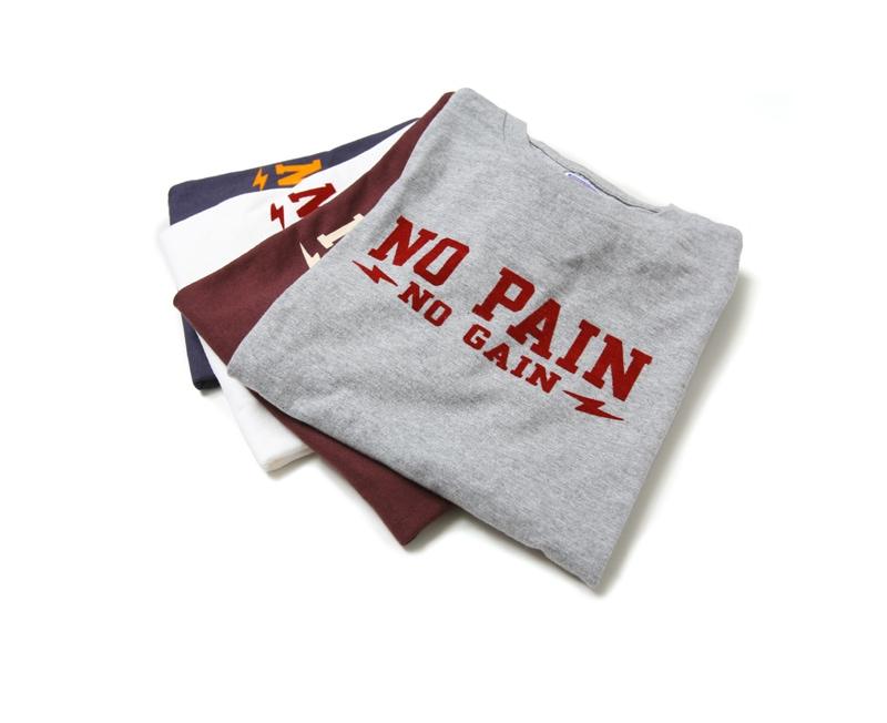 ダブルワークス DUBBLEWORKS 33005 プリントTシャツ [NO PAIN,NO GAIN]