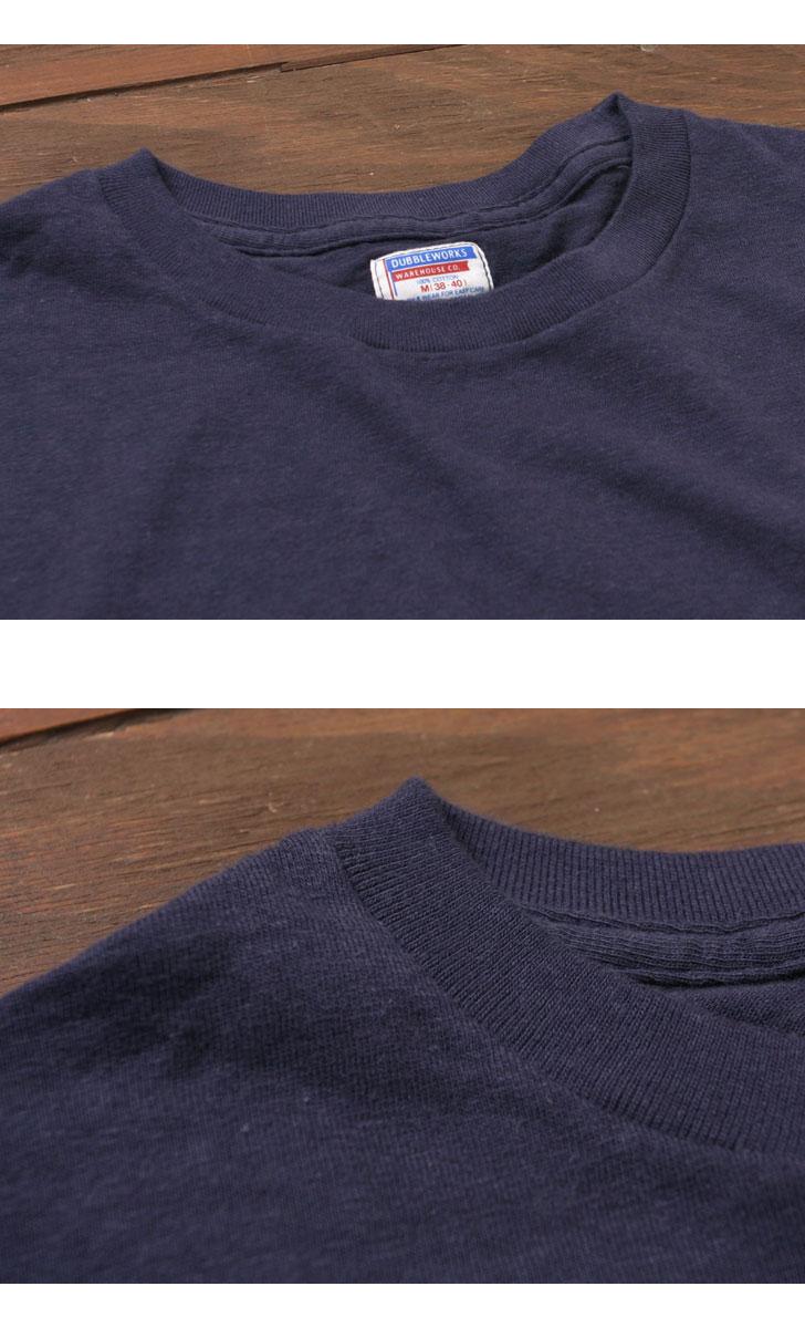 ダブルワークス ポケット付きTシャツ 無地 DUBBLEWORKS 34002
