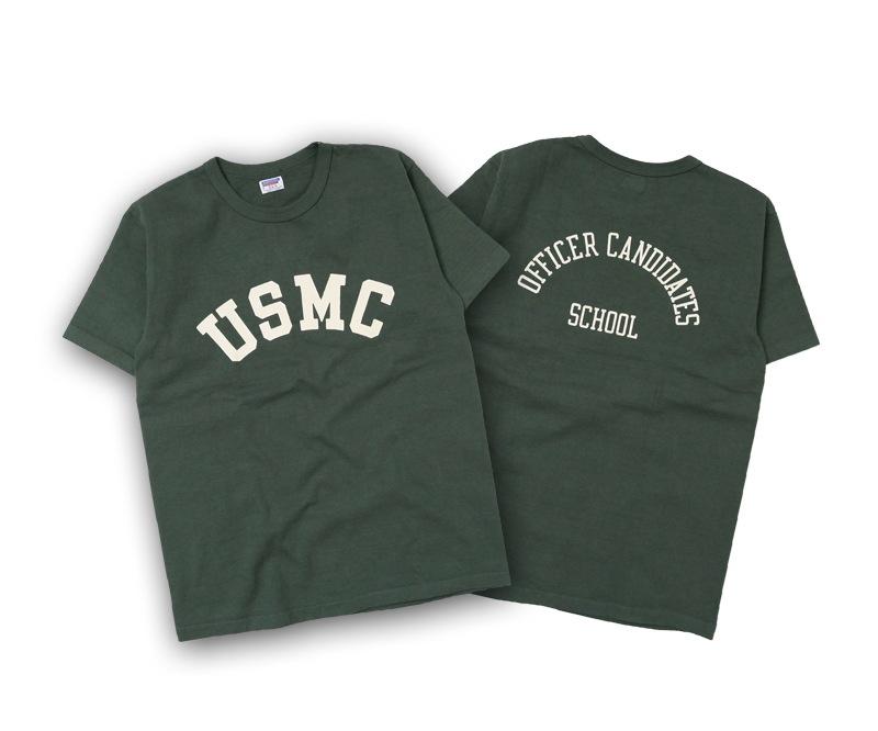 ダブルワークス 度詰め半袖Tシャツ [USMC] DUBBLEWORKS 37001