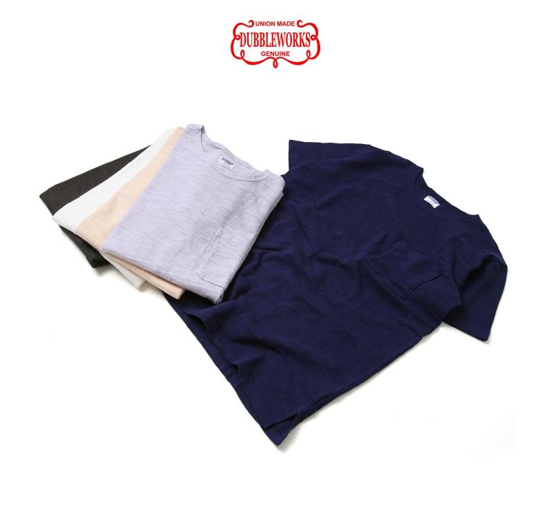 ダブルワークス DUBBLEWORKS スラブ半袖Tシャツ 37003