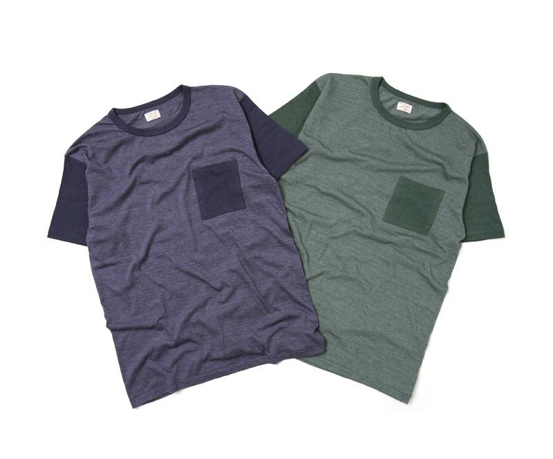 ダブルワークス DUBBLEWORKS 2トーンポケットTシャツ 37004
