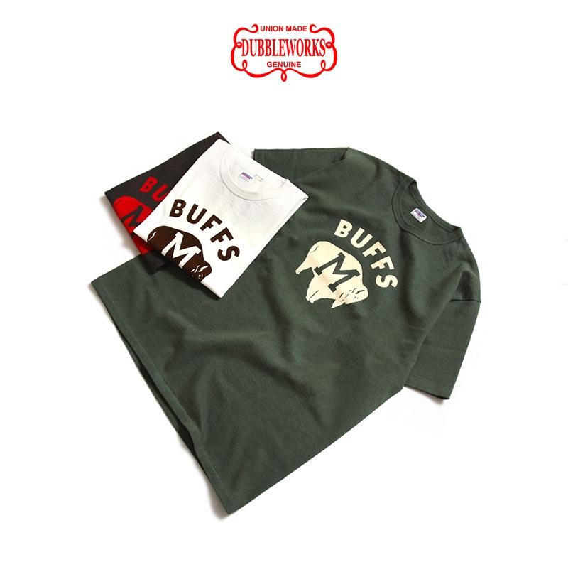 ダブルワークス 度詰め半袖Tシャツ [BUFFS] DUBBLEWORKS 37001