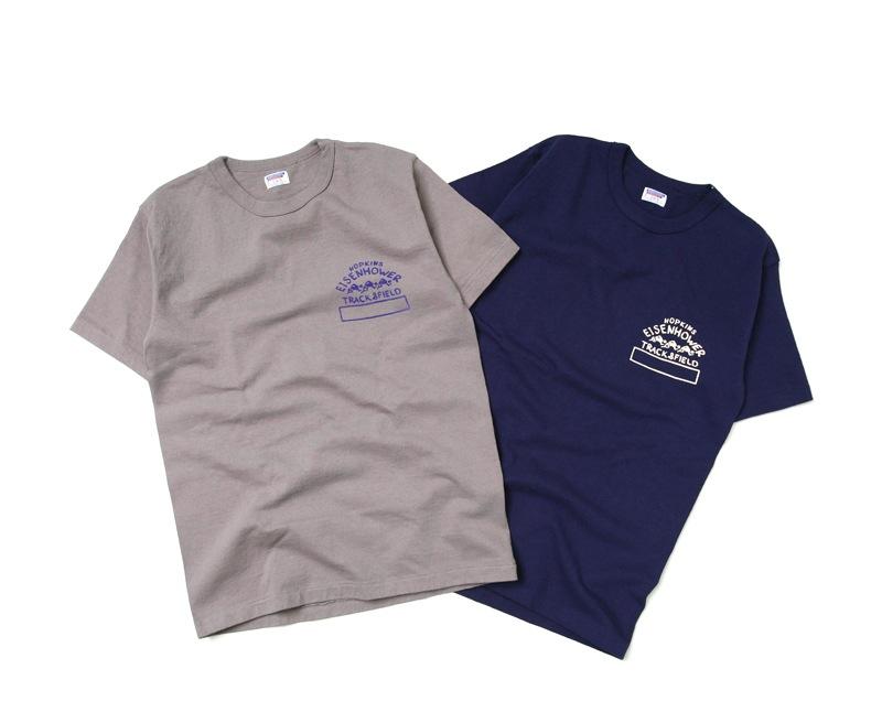 ダブルワークス 度詰め半袖Tシャツ [HOPKINS] DUBBLEWORKS 37001
