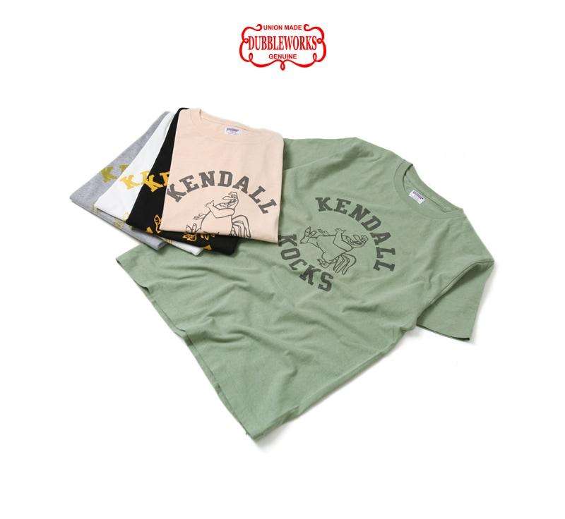 ダブルワークス DUBBLEWORKS 33005 プリントTシャツ [KENDALL]