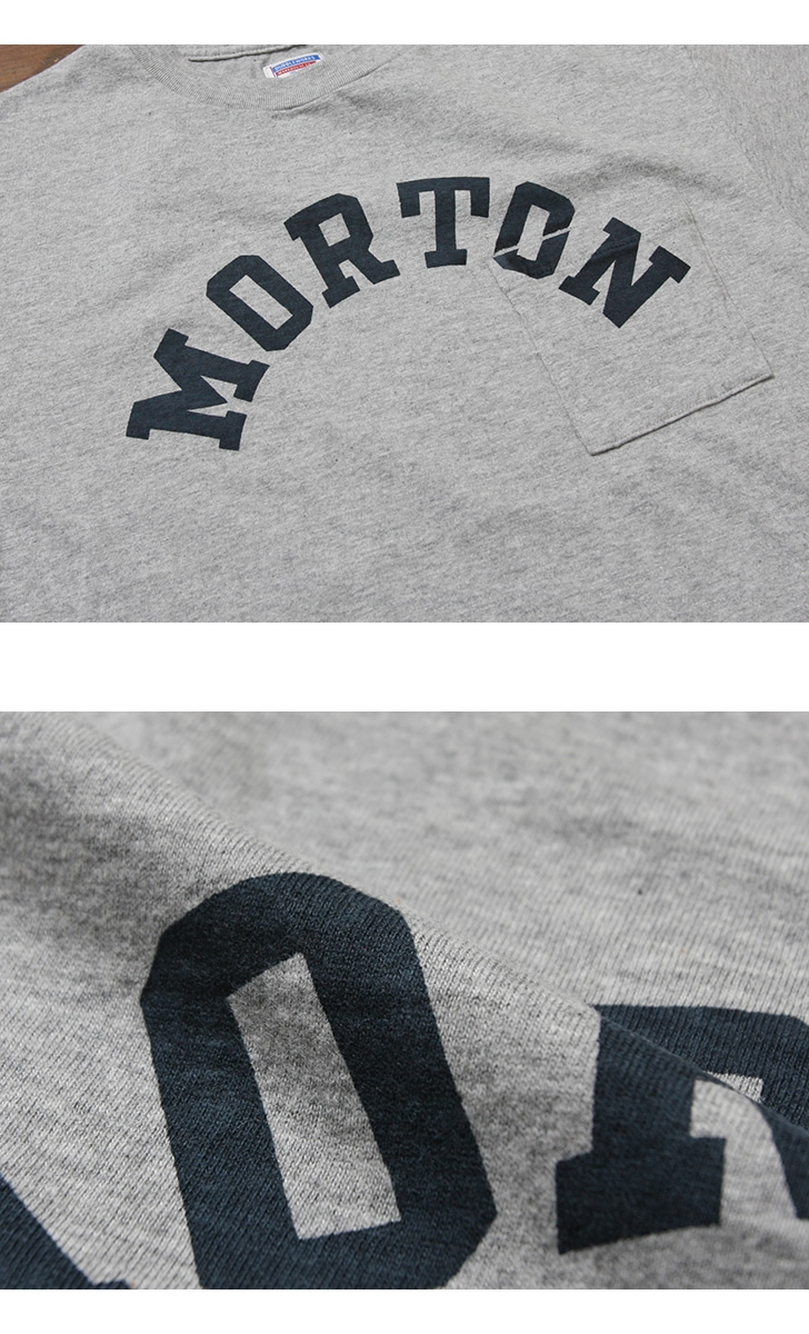 ダブルワークス DUBBLEWORKS 34002 ポケット付き プリントTシャツ [MORTON]