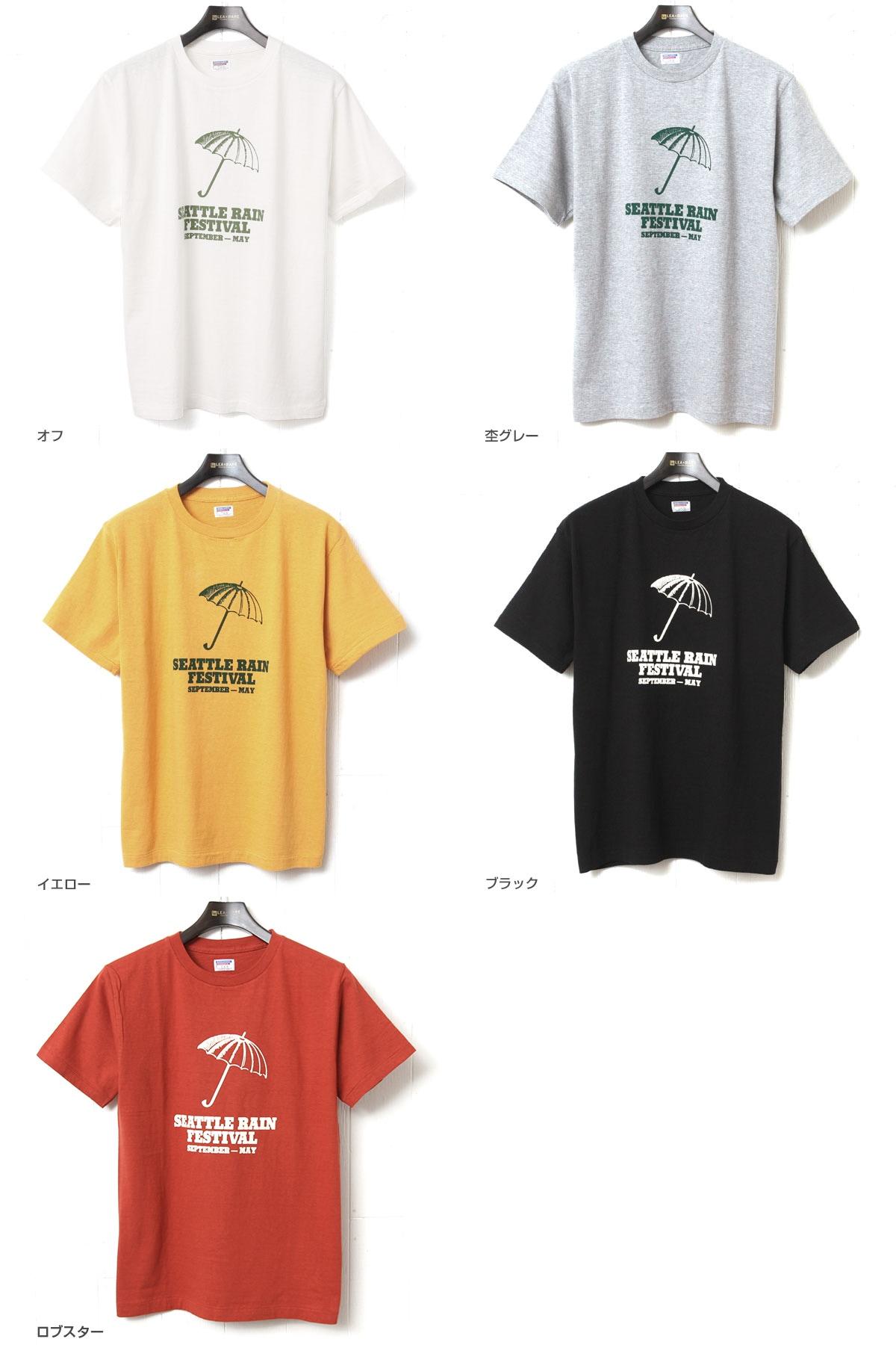 ダブルワークス DUBBLEWORKS 33005 プリントTシャツ [SEATTLE RAIN]